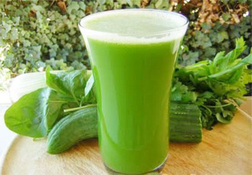 cucumber juice treatment