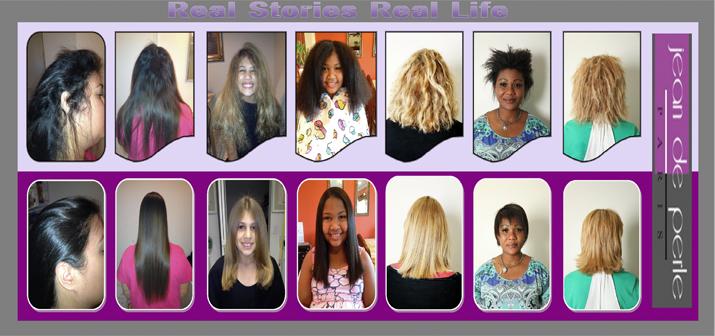 amino acid hair straightening keratin treatment