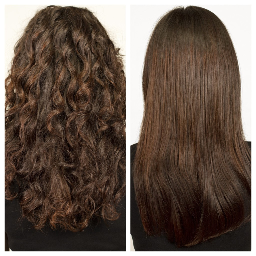 amino acid hair straightening